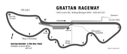 Auto club speedway map 13